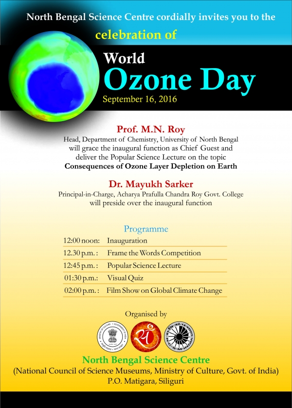 World Ozone Day Celebration